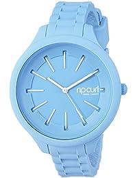 Womens Quartz Plastic and Silicone Sport Watch, Color:Blue (Model: A2803GBAB1SZ)