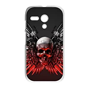 Motorola G Cell Phone Case White_The Expendables Weapons Occck