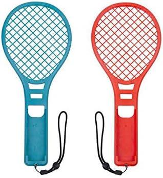FUVOYA - Raqueta de Tenis 1 par para Nintendo Switch, Somatosensory Joy con Mando Gaming - Raqueta de Tenis de Toma para Mario Tennis Aces: Amazon.es: Hogar