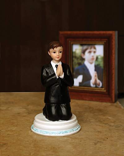 First Communion Praying Child Keepsake Figurine, 4 1/2