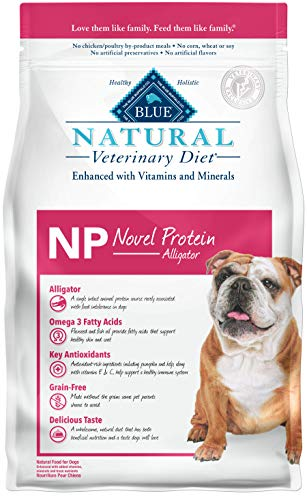 Bayou Blend - Blue Buffalo Natural Veterinary Diet Novel Protein-Alligator for Dogs 6Lbs