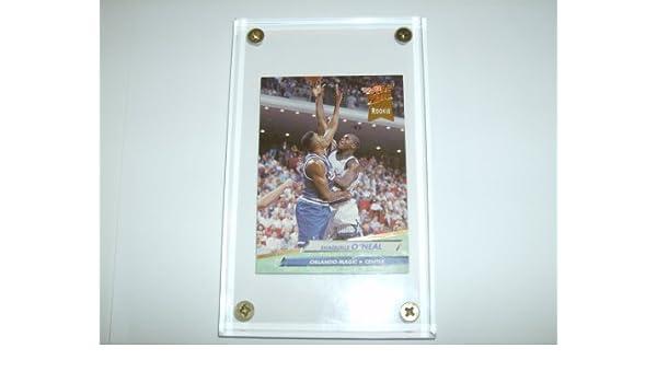 aa66c9b8299 Amazon.com  Shaquille O Neal 1992-93 Fleer Ultra NBA Rookie Card  328 (Orlando  Magic) (Includes Heavy Duty 4 Screw Down 1 2 Inch Thick Display Case)  ...