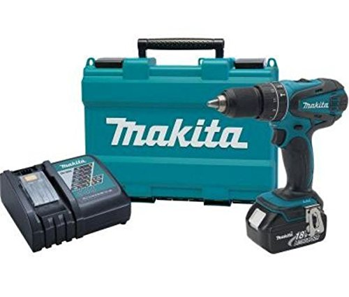 Makita New 18-Volt LXT Lithium-Ion 1/2 in. Cordless Hammer Driver Drill Kit .#GH45843 3468-T34562FD163956 by Nessagro