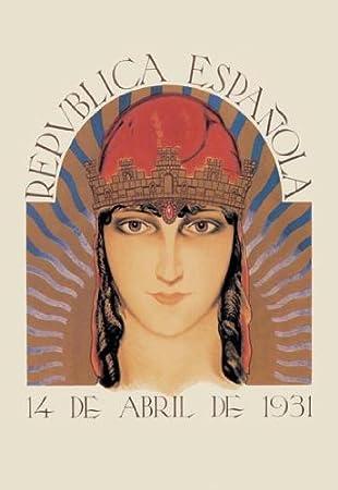 Buyenlarge 03070-4P2030 República Española 20 x 30 Póster: Amazon.es: Hogar