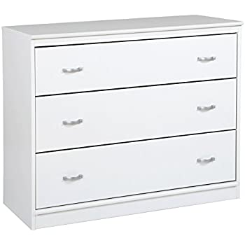 South Shore Mobby 3-Drawer Chest, Pure White