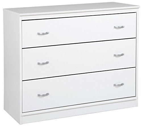 South Shore 3880033 Mobby 3-Drawer Chest, Pure White