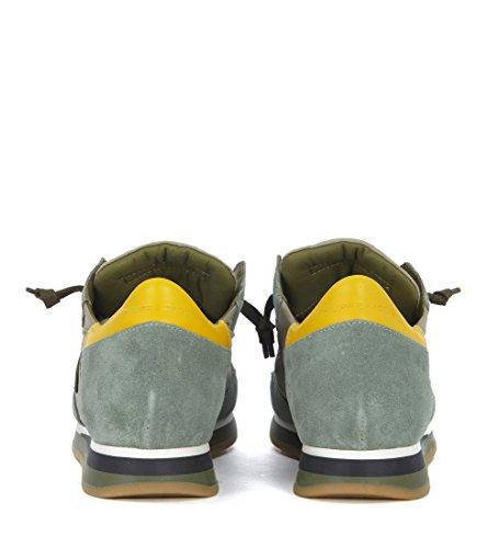 Verde Philippe E Sneaker Model Camoscio Tropez In Grigio Tessuto UOSaXBO