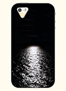 OOFIT Phone Case design with River under the Moonlight for Apple iPhone 4 4s 4g