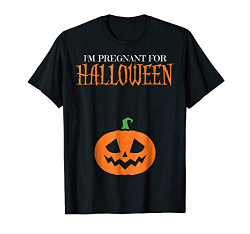 I'm Pregnant For Halloween Funny Announcement Costume Shirt]()