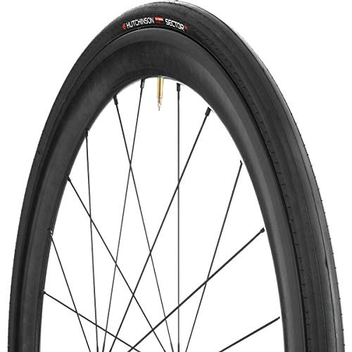 (Hutchinson Sector Tubeless Road Tire 700C X 28 BLACK)