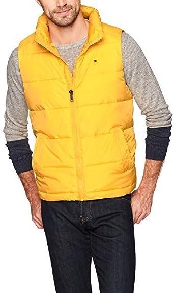 Tommy Hilfiger Mens Ultra Loft Quilted Puffer Vest Down Vest