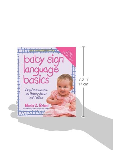 sign language for healthy hearing infants Created by the makers of my smart hands, an international baby sign language  program with more than 150 instructors in more than 10.