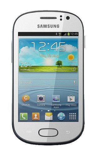 Samsung Galaxy Fame S6810 Unlocked GSM Android Smartphone - White