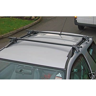 Maypole Lockable Roof Rack Bars for Toyota RAV 4 with Roof Rails