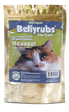 Bellyrubs Premium Organic Catnip - 1 Oz. Bag