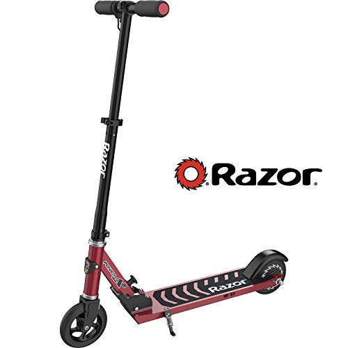Razor Power A2 Electric Scooter for Kids Age 8+, Lithium-ion Powered Brushless Hub Motor, Anti-Rattle Folding Mechanism, Rear Wheel Drive for Better Control, Sleek Lightweight Design only 14lbs