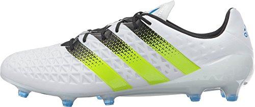 Adidas Man Fotboll Ace 16.1 Fast Mark Klotsar Vit / Sol Slem / Chock Blå