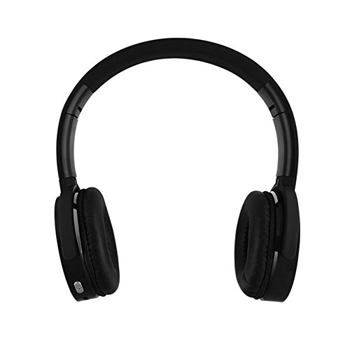 YHhao Wired / Wireless Over-Ear Headphones, Noise Canceling Headsets, Foldable Headsets with Volume Control, Built-in Mic for PC, Computer, Laptop, iPhone, Android Smartphone, etc(Black08)