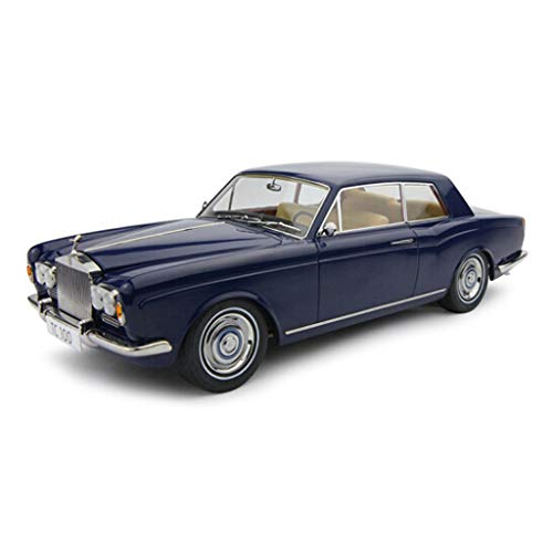 PENGJIE-Model 1:18 Rolls-Royce Silver Shadow High-end Simulation MPW Alloy Car Model Classic Retro Car Collection Gifts Play (Color : Blue) ()