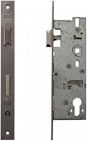 ToniTec Rohrrahmenschloss Einsteckschloss 8//92 24mm Stulp Edelstahl 25 30 35 40 45 mm