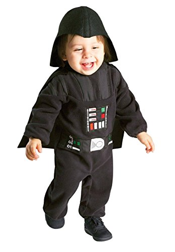 Rubies Toddler Boys Star Wars Darth Vader Jumpsuit Costume (2T-3T)]()