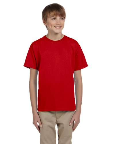 Youth 5 oz. HD Cotton T-Shirt (TRUE RED - TRUE RED XS)