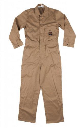 Rasco Fire Retardant Coveralls 7.5 oz 100% Cotton Khaki