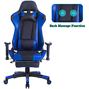 Amazon Com Suwikeke High Back Video Gaming Chair With