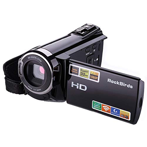 Camcorders, RockBirds HDV-5052STR Digital Video Camera HDMI