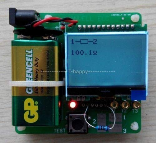 Westsell 2015 Automatic Detection Digital Combo MG328 Multifunction Transistor Tester Inductor-Capacitor ESR Meter Diode Triode MOSFET's