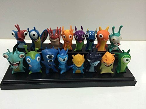 TL Cute New Movie Cartoon Action Figures Toys One Set of 16 PVC Dolls for Gifts (Cartoon Figure)