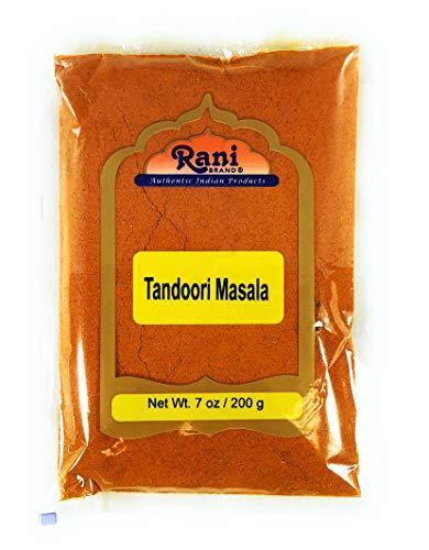Rani Tandoori Masala (Natural, No Colors Added) Indian 11-Spice Blend 7oz (200g) ~ Salt Free | Vegan | Gluten Free Ingredients | ()
