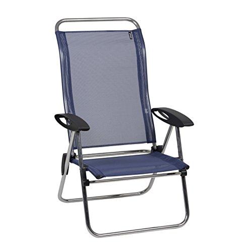 Lafuma Low Elips   Alu Brut Aluminum Frame   Ocean Batyline Fabric   Folding  Beach Chair With Adjustable Back   Adjustable Folding Camping Chairs Or  Outdoor ...