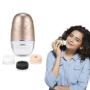 Lifelong LLM720 Rechargeable Face Cleaning Massager (Golden)