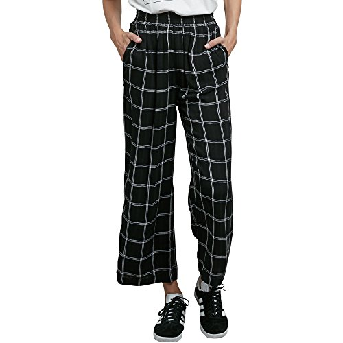 Volcom Junior's Jumponit Cropped Wide Leg Trouser Pant