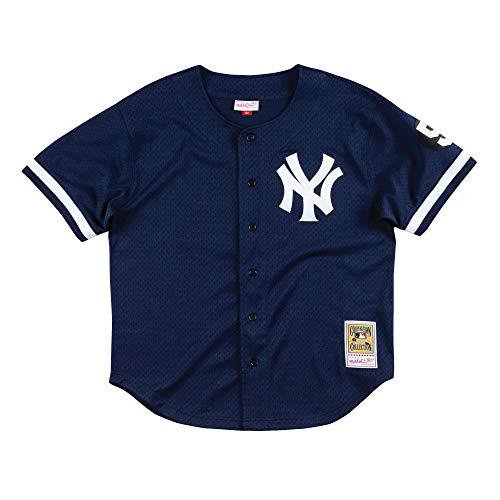 Mitchell & Ness Mariano Rivera 1999 New York Yankees Authentic Mesh BP Jersey (X-Large)