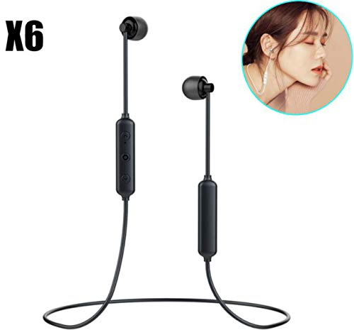 Bluetooth Wireless Sleep Earbuds with Mic | Soft in-Ear Buds Comfortable for Side Sleepers | Works with iPhone/Android Devices | ASMR, Audiobooks, Music and More |by Wumas