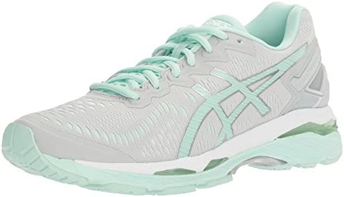 ASICS Women's Gel Kayano 23 Running Shoe, Glacier GrayBay