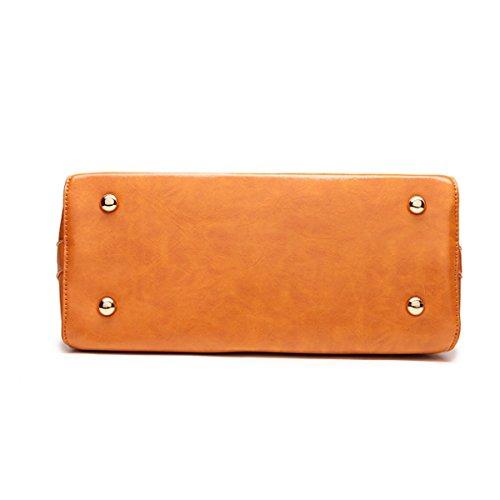 Vintage Orange Borsetta Moda Tracolla Donna 4XqYfE