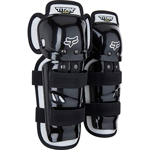 Fox Racing Titan Sport Knee/Shin Guards - One size fits most/Black ()