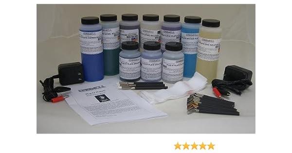 Caswell Plug N' Plate Workshop Electroplating Kit
