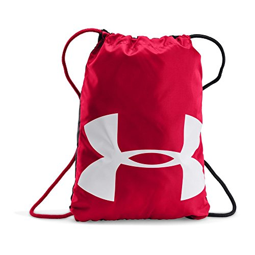 Under Armour Ozsee Sackpack, Red/White, One Size -