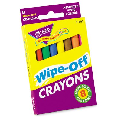 8-Pack Regular Wipe-Off® Crayons