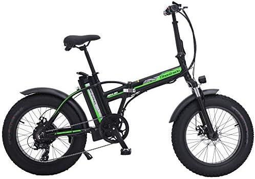 SHENGMILO MX20 Bicicleta eléctrica para Nieve de 20 Pulgadas ...