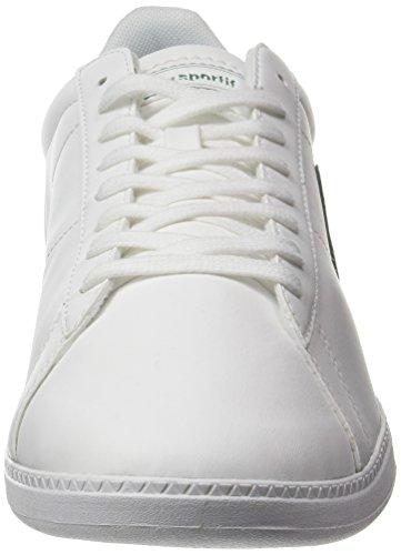 S Optical Sportif Lea Courtset Mixte Adulte Blanc Coq Baskets Basses White Le Evergr AOqRatwx