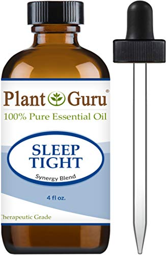 Sleep Tight Essential Oil Blend 4 oz 100% Pure Undiluted Therapeutic Grade. Good Night Aid, Relaxation, Depression, Stress, Anxiety Relief, Mood, Uplifting, Calming, Aromatherapy