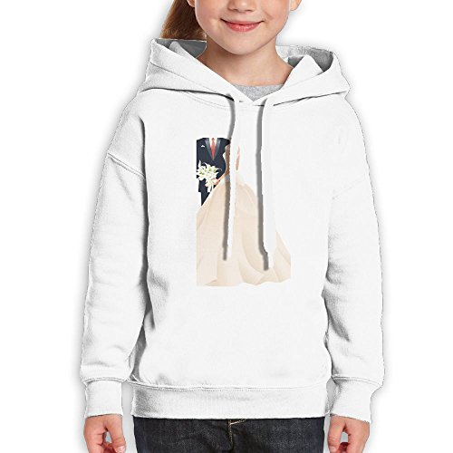 Fashion Unisex Sweatshirts,Comfortable Marry Wedding Cotton Hoodies Pullover For Girl by CHENLY