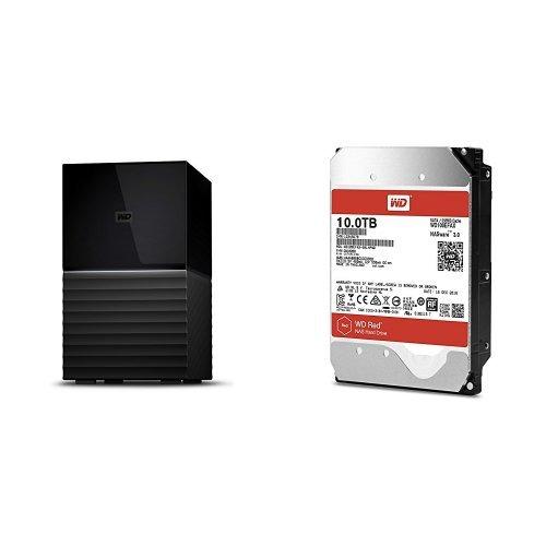 人気特価 WD HDD 外付けハードディスク 20TB HDD My Book Duo 1) WDBFBE0200JBK-JESN(3年保証)+交換用内蔵ハードディスク 10TB WD100EFAX WD Red WD100EFAX B074ZBWSVD 1) 6TB 1) 6TB 本体のみ, BRANDSHOP HERIOS:34488ded --- svecha37.ru