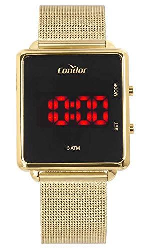 Relógio Condor Feminino Digital Led COJHS31BAA/4X Dourado