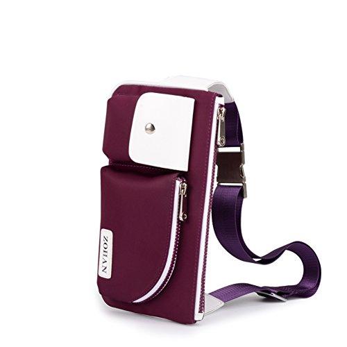bolsa de los hombres/Al aire libre colgado a través de la bolsa de hombro/Paquete del pecho/Bumbag/Bolso de la lona-C C